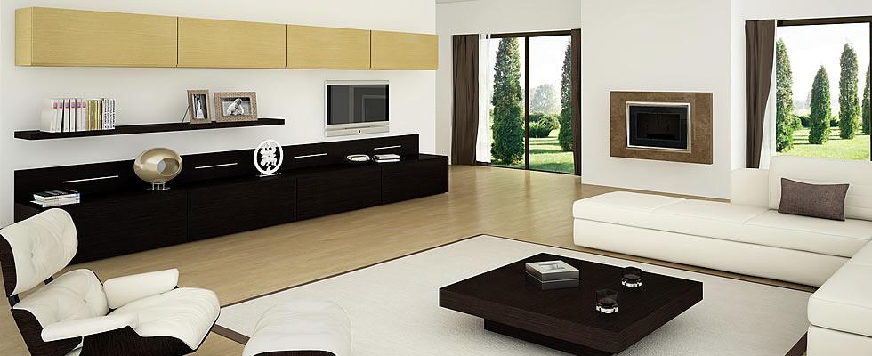 Salones vigoco for Muebles salon color wengue
